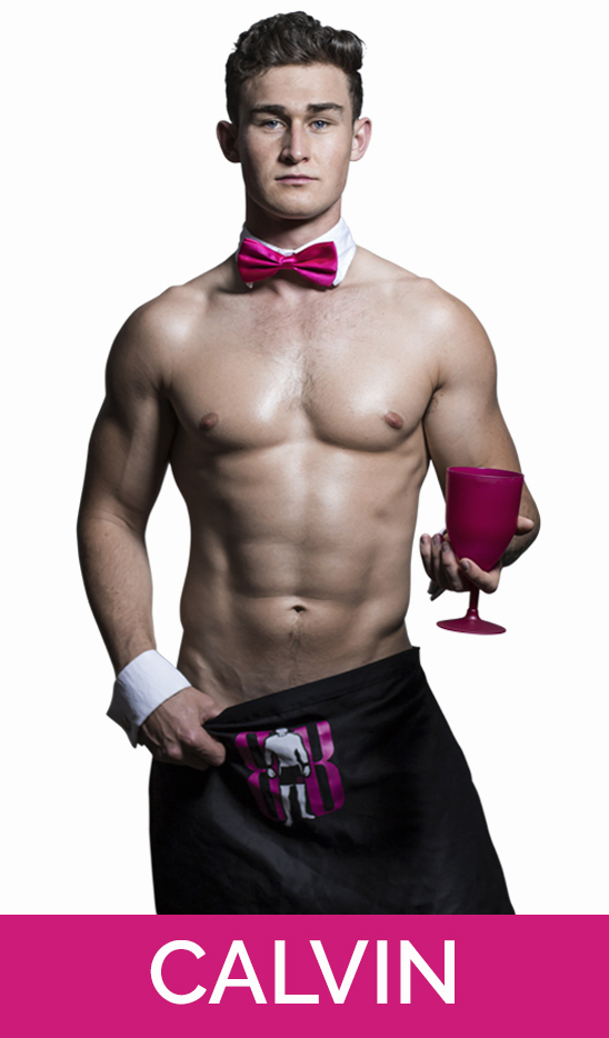 topless waiter and male nude life drawing model stripper in auckland