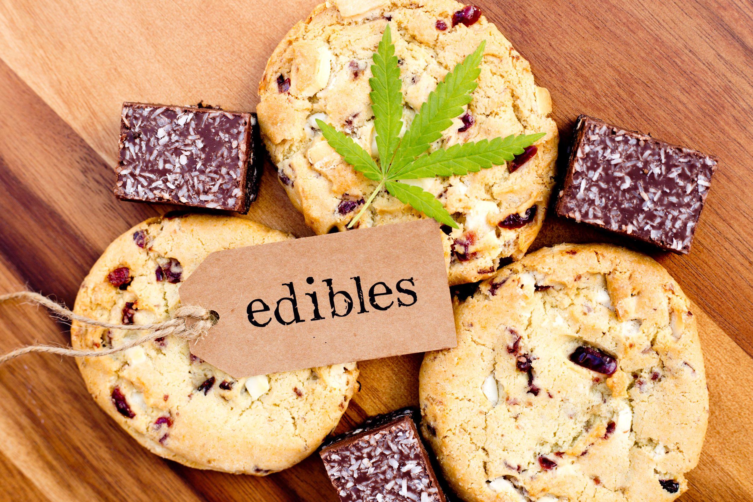 Marijuana - Cannabis - Medicinal Edibles - Cookies and Coconut Brownies.jpg