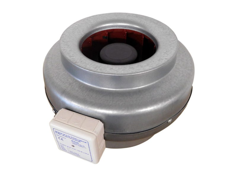 Image of the Mobair 48 V DC duct fan