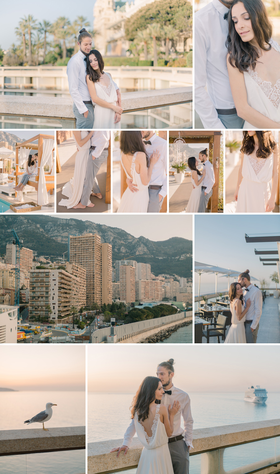 wedding fairmont monaco photographer
