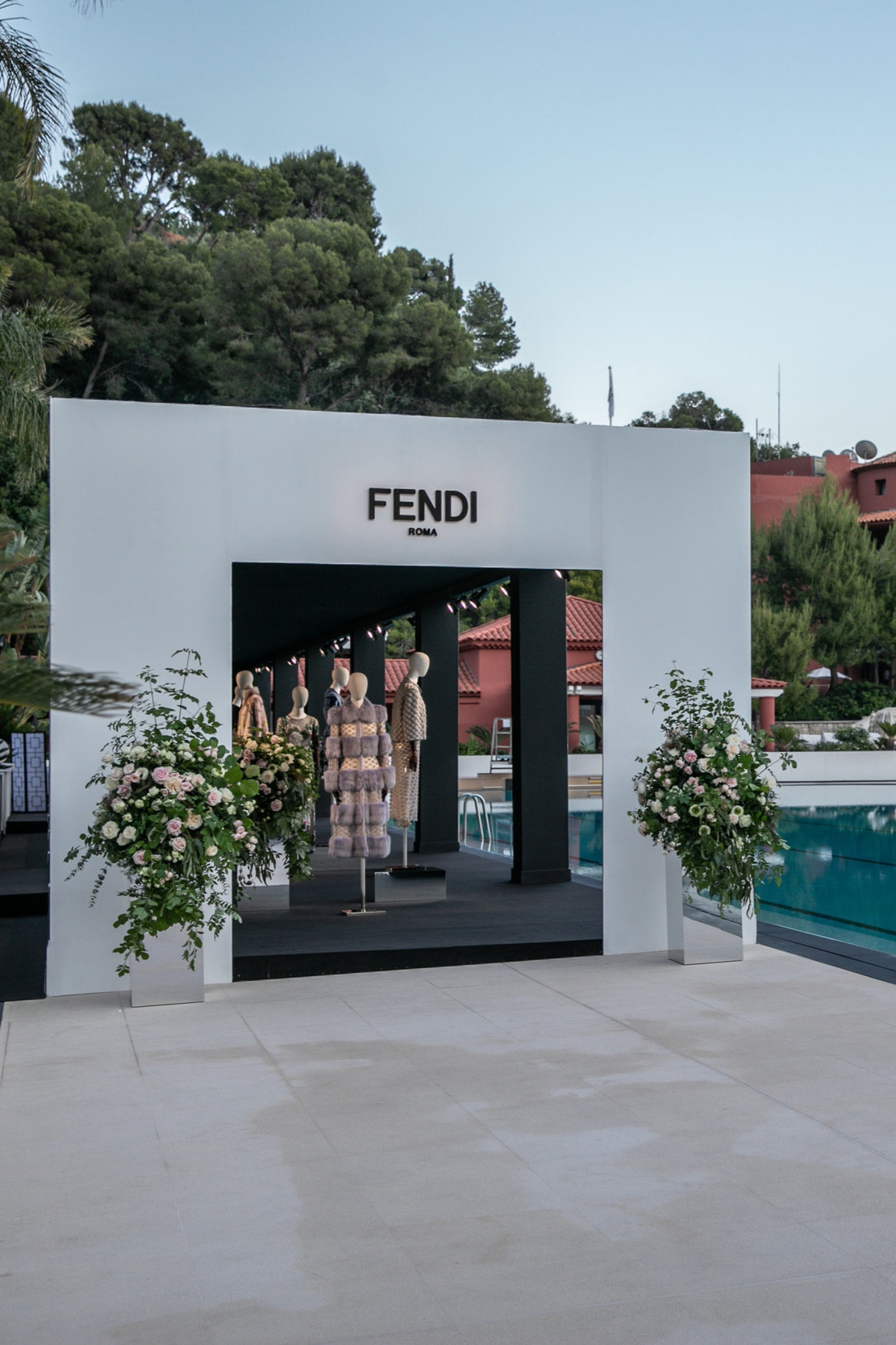 SET UP ONLY - FENDI MONTE-CARLO BEACH 6.6.19