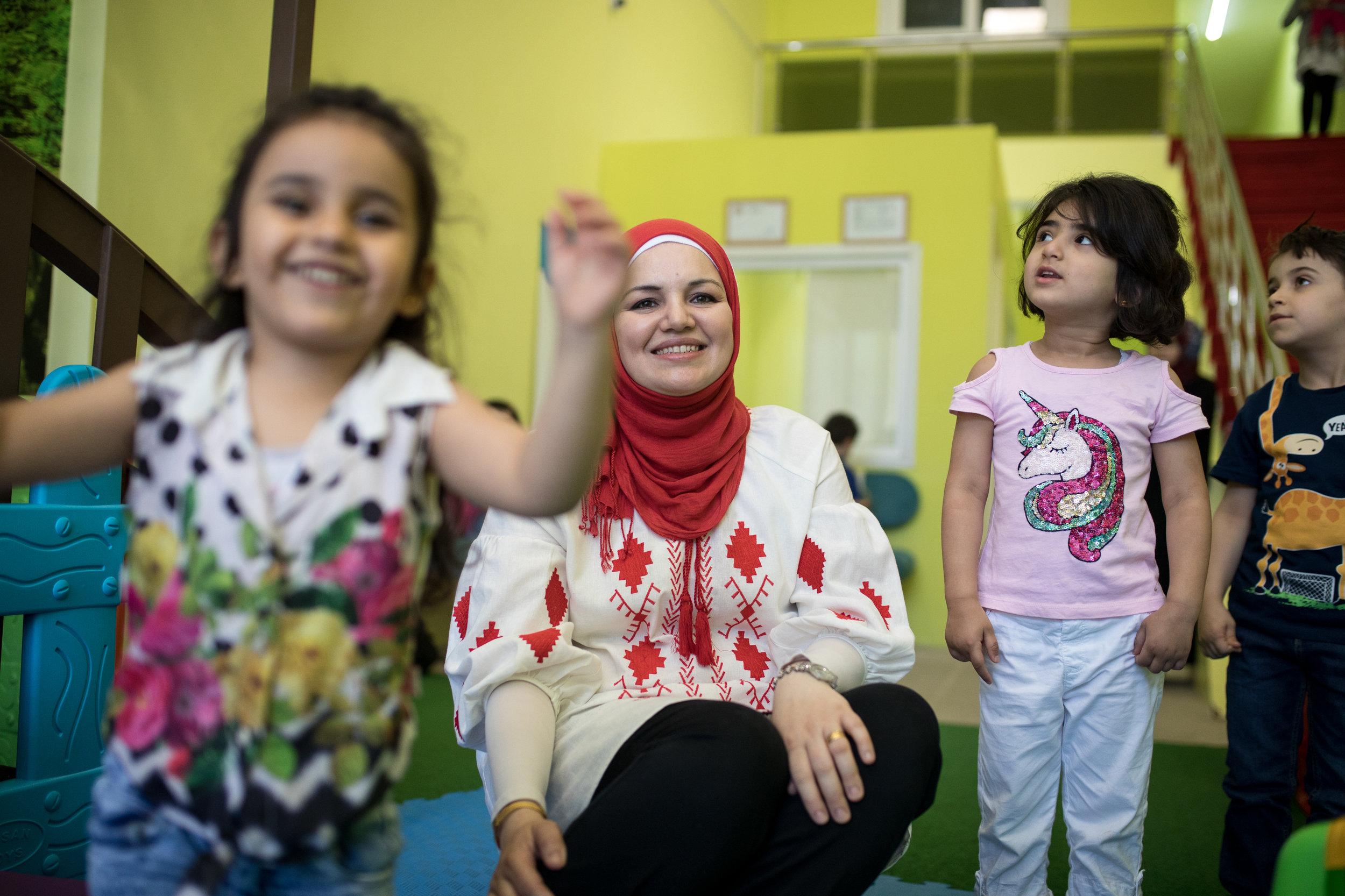 2018-07-03_Dania Al Bouchi, 30, Dunya Al Khayal Kindergarten, Gaziantep, TK_0241.jpg