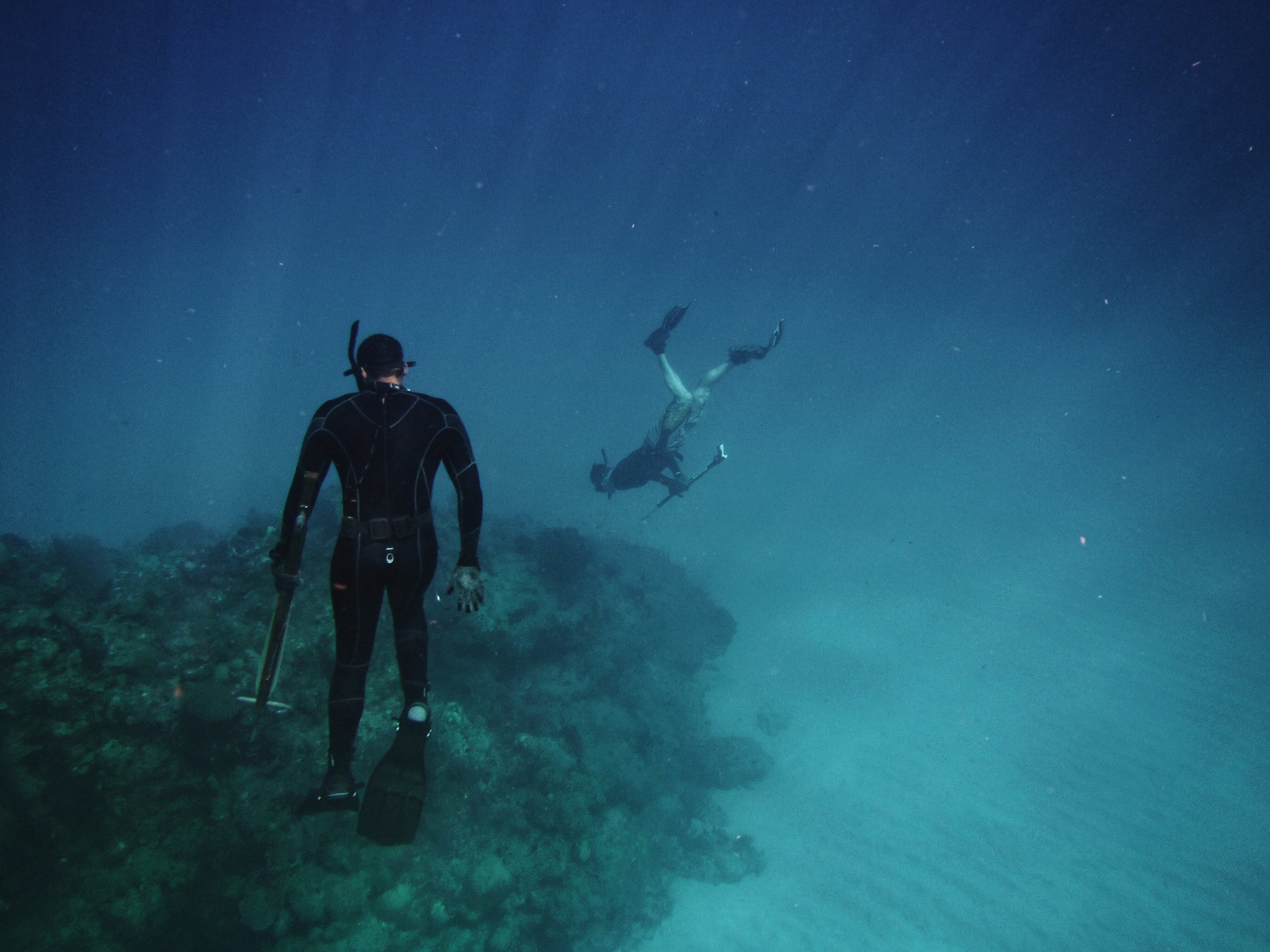 free diving at Raw Ocean Lodge