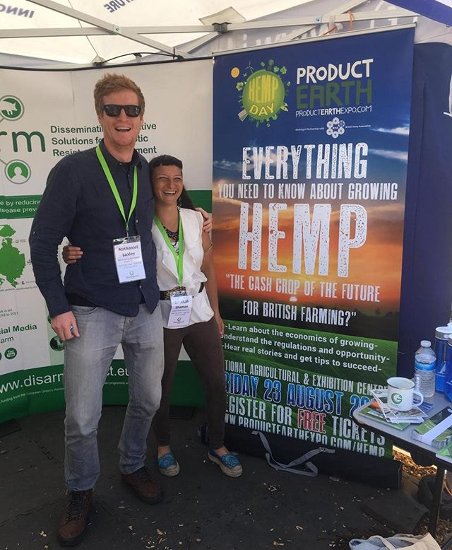 BHA Directors Rebekah & Nathaniel enjoying their second day @groundswell_agriculture speaking to Farmers about Hemp & the dedicated Hemp Zone at the upcoming @product_earth Expo! 🌱⁠ ⁠ ⁠ ⁠ #Hemp #Farming #sustainablefarming #soilhealth #agriculture #environment #sustainability #soil #ClimateEmergency #Nature #NetZero #ecofriendly #food #growth #instaagriculture #carbonfootprint #technology #innovation #wehavethesolutions #noplanetB #Thursday #Thursdaymotivation
