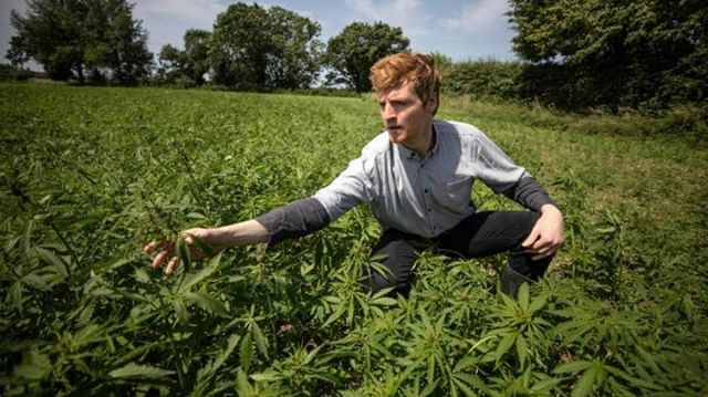 'High time we relaxed rules on hemp, say farmers' - Nathaniel's interview with @thetimes is out today! 🌱 ⁠ https://www.thetimes.co.uk/edition/news/high-time-we-relaxed-rules-on-hemp-say-farmers-g3zl6srct⁠ Photo taken by Times Photographer Richard Pohle⁠ ⁠ #Hemp #Farming #FarmingUK #farmers #farm #UK #sustainablefarming #ClimateEmergency #NetZero #soil #soilhealth #croprotation #carboncapture #ecofriendly #TheTimeisNow #environment #nature #GreenWave #growth #YearofGreenAction #solutions ⁠ #CBD #cbdforthepeople #SaturdayMotivation #climatechangesolutions #positiveaction