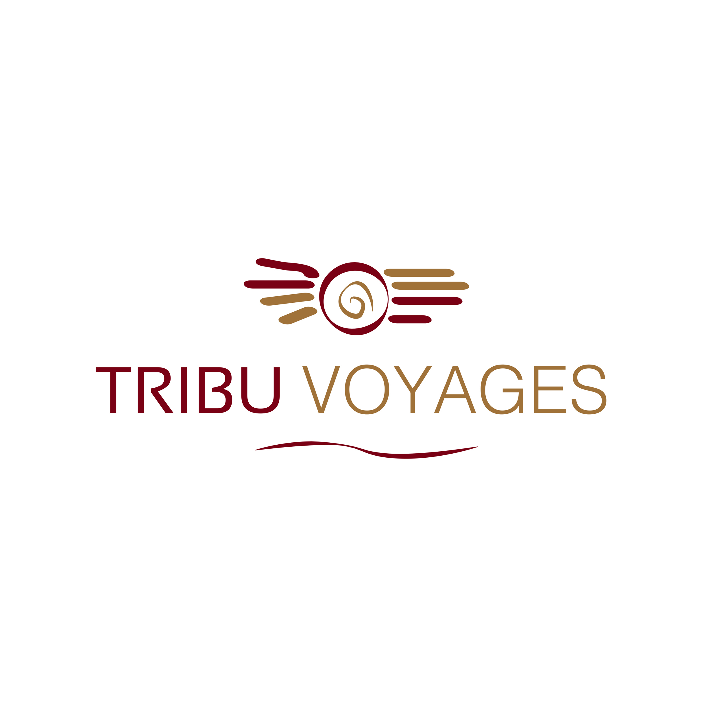 Logo for a french Travel Company
