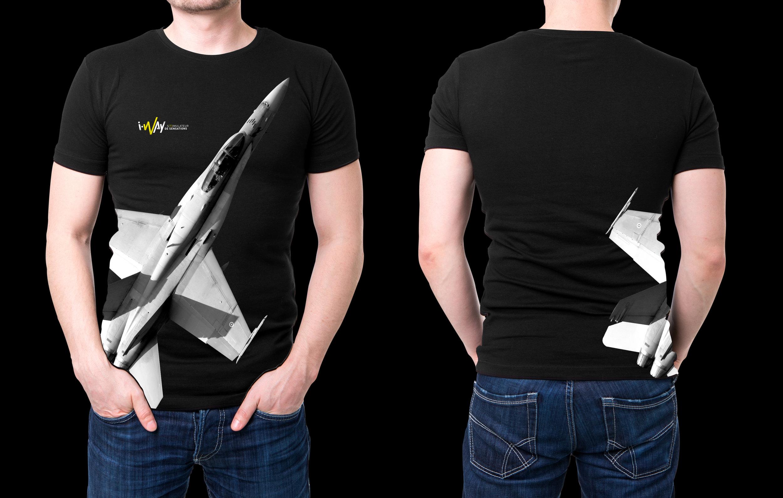 T-Shirt I-Way - Plane