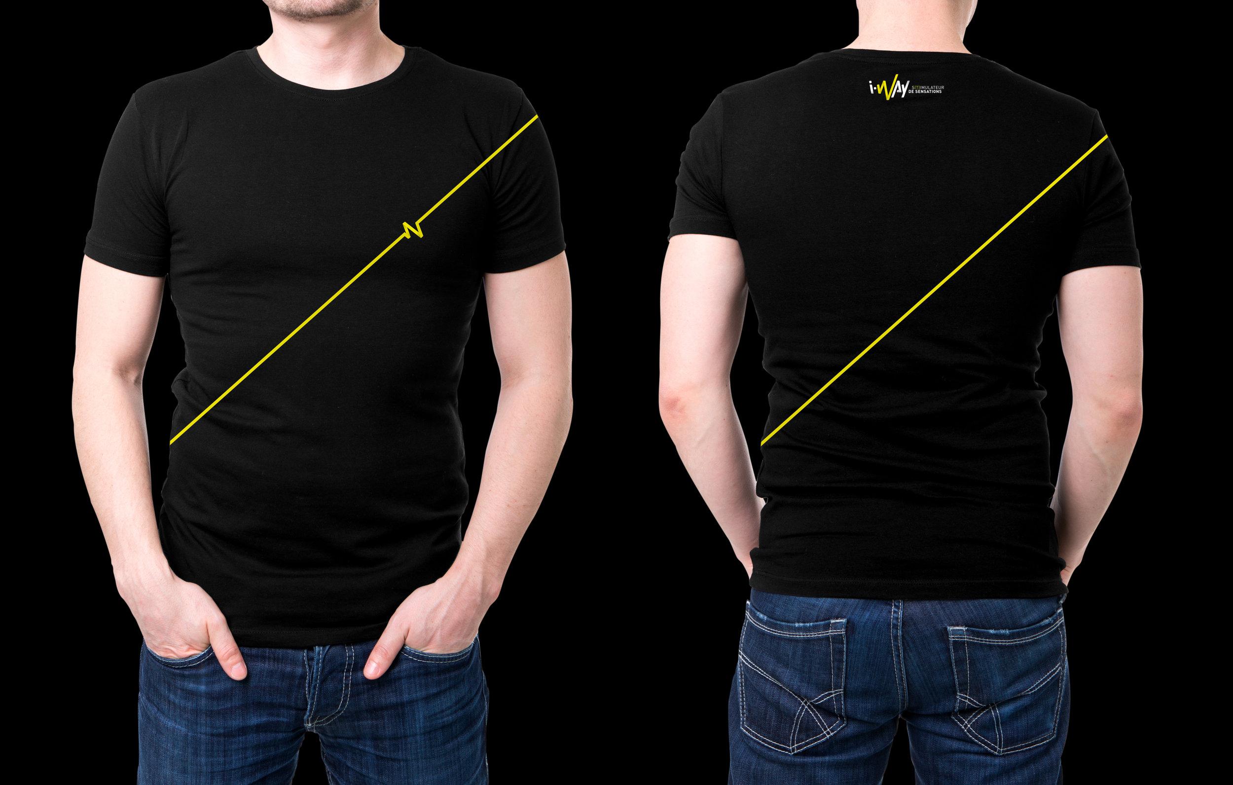 T-Shirt I-Way - Logo Line