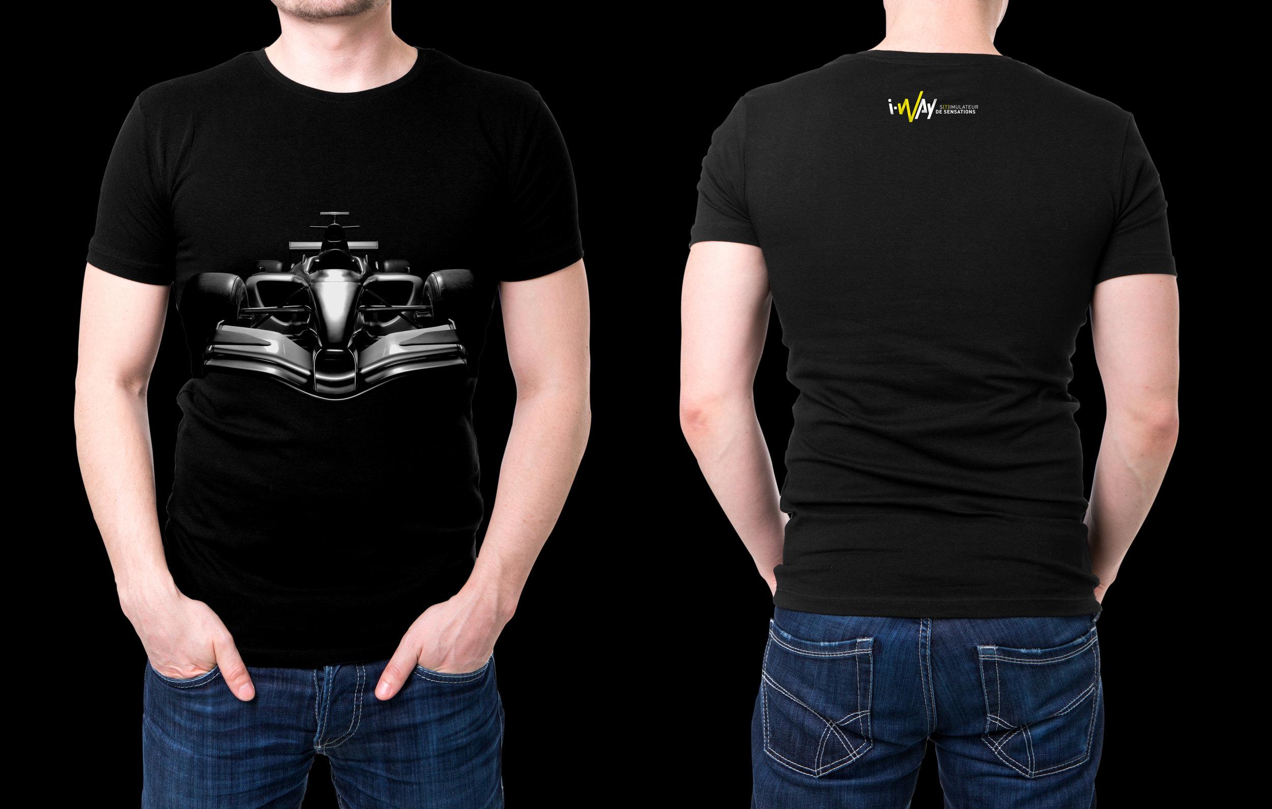 T-Shirt I-Way - Car