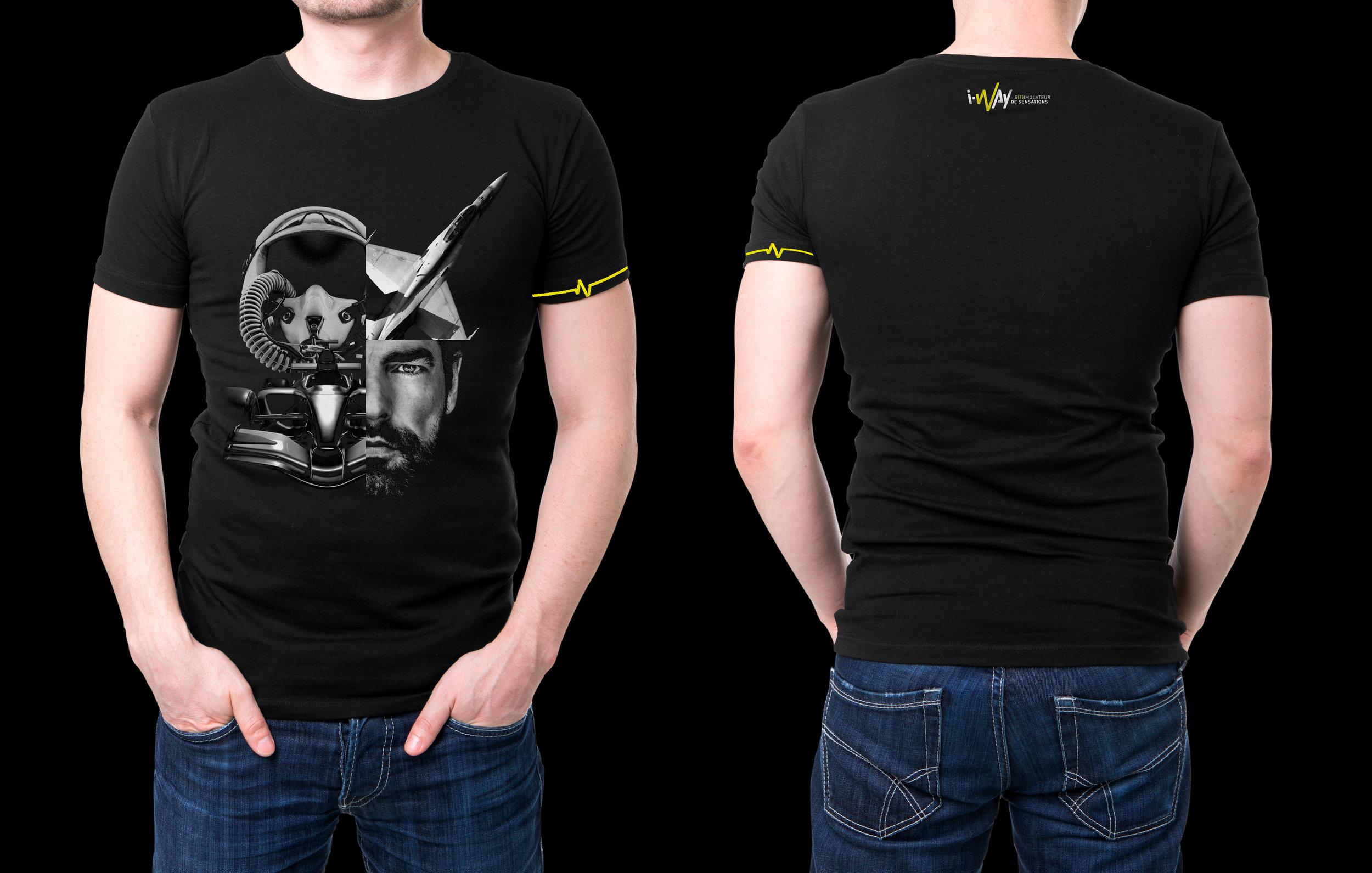 T-Shirt I-Way Composition