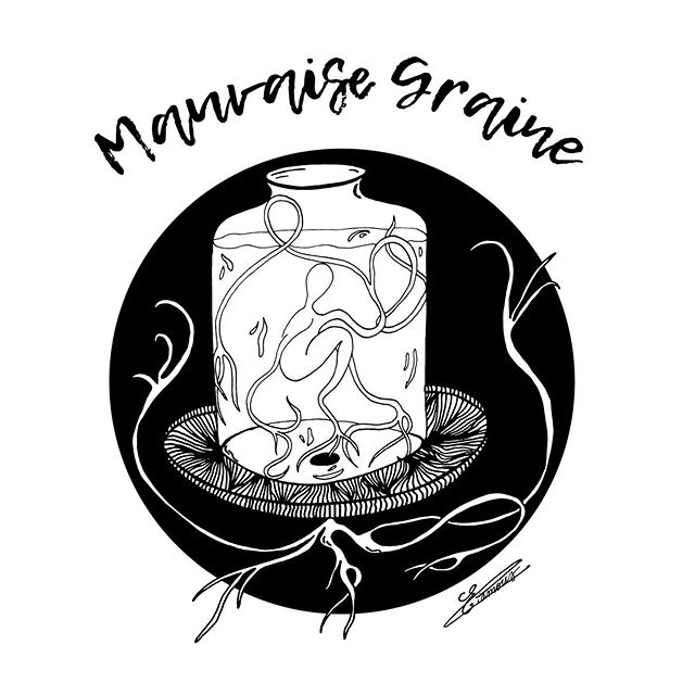 - Mauvaise Graine 🌱 - 📩 PM If you're interested - - - - - - #illustrations #graphicdesign #art #instart #mood #woman #tattoo #lines #linesart #flowers #plants #blackandwhite #colors #decoration #illustrator #naked #emotion #growth #power #art_collective #artwork #mywork #dessin #lyon #paris #france #details #artoftheday