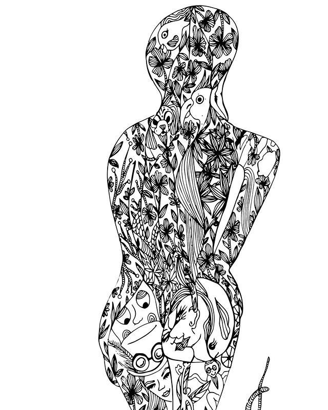 Beaucoup d'histoires dans son dos ✨. - A lot of stories in his back ✨. - - - - - - #illustrate #illustration #drawing #drawingoftheday #illustratoroninstagram #graphicartist #vectorillustration #details #creativeprocess #doodle #digitalart #vector #sketch #instaart #illustrationoftheday #creatives #instaartist #woman #allwomen #alien #nude #design  #women #feminism #beyourself #woman #beautiful #beautifulwomen #beautifulwoman #peace #love