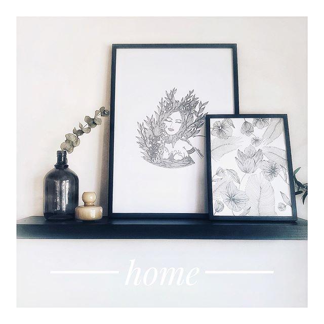 At Home ✨. Posters 50x70cm and 29,7x42cm . . . . . . . . . #poster #livingroomdesign #livingroomdecor #decoration #interiordesign #simplicity #art #illustration #photography #mood #livingroom #idea #france #posterdesign #minimalism #flowers #graphic #graphicdesign #place #inspiration