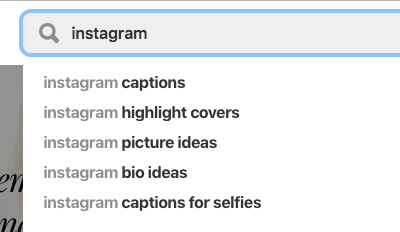 Pinterest Keyword Search
