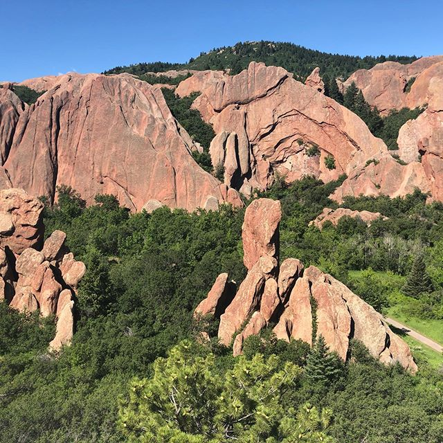 Crazy beautiful red rocks. Slightly exhausted after a morning hike but totally in awe of nature.