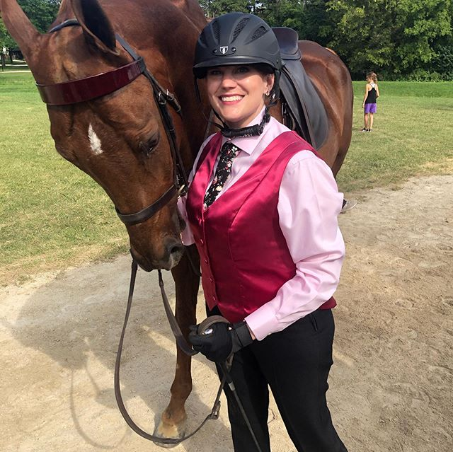 First horse show done and done! This guy was on his best behavior and lived up to his name of Semper Phi. Congrats to all of the amazing young ladies who showed up for themselves today and were brave. Do something that scares you everyday.
