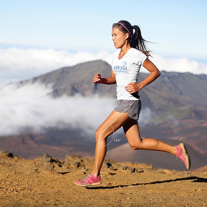 Biomecánica del running -