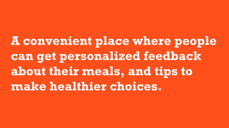 Feedback About Your Meals