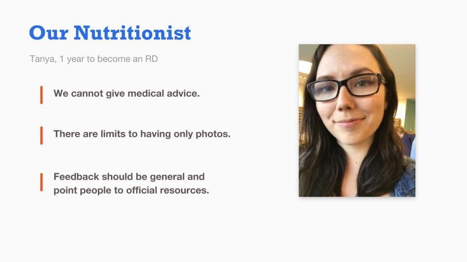 Our Nutritionist