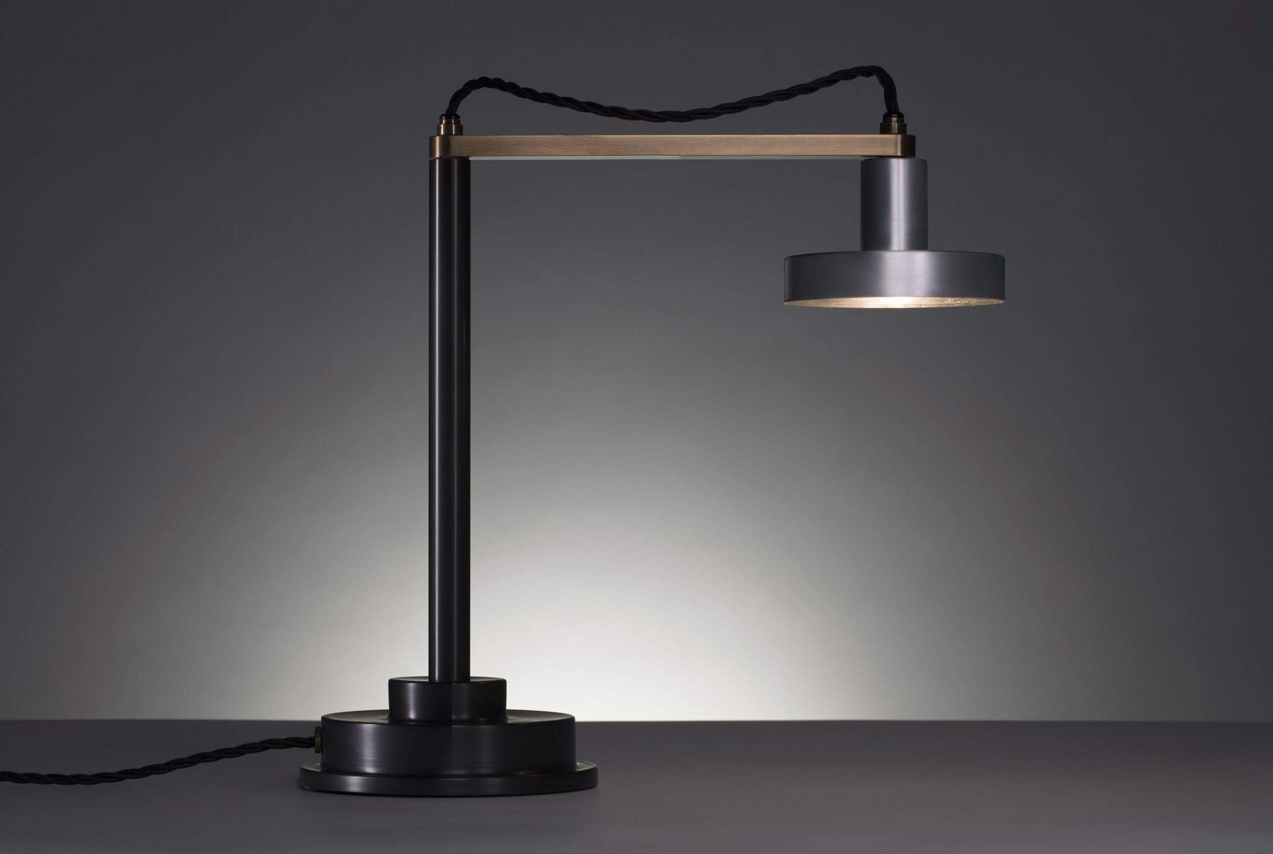 APD Argosy Product Division Delta Lamp  Modern Industrial Product Design for Contemporary Interior Design Clean Geometry Simplicity with Handmade Craftsmanship