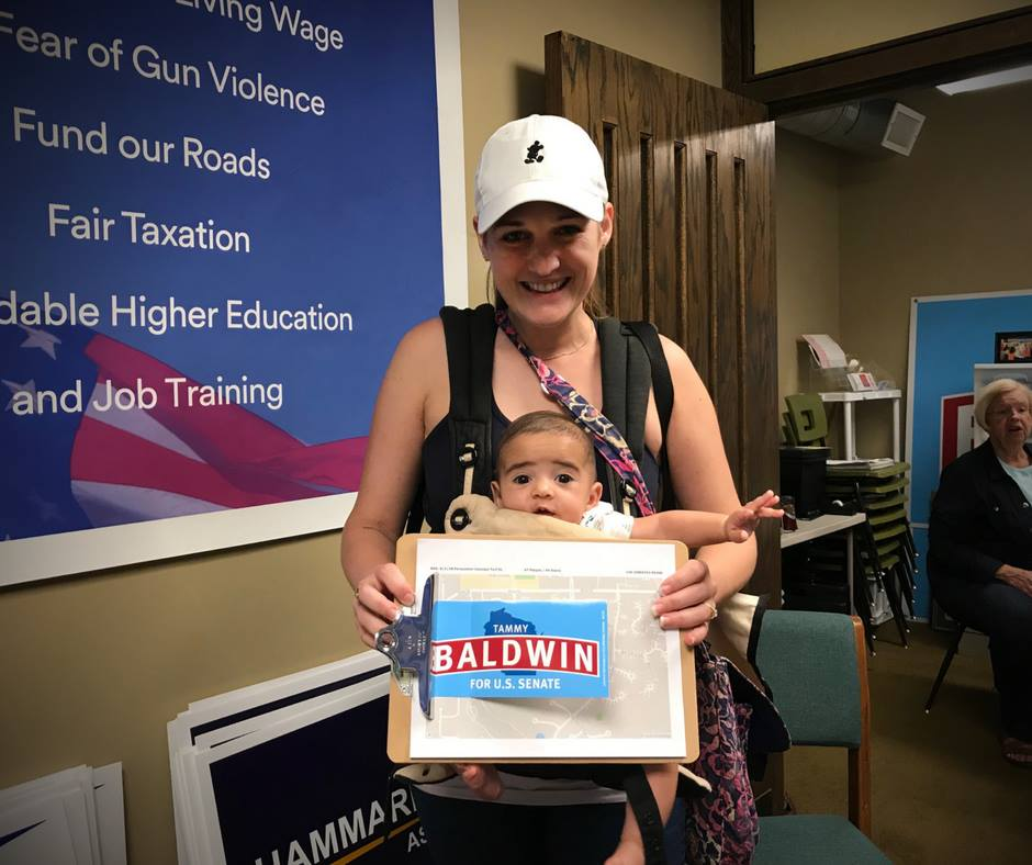 canvassing with kids