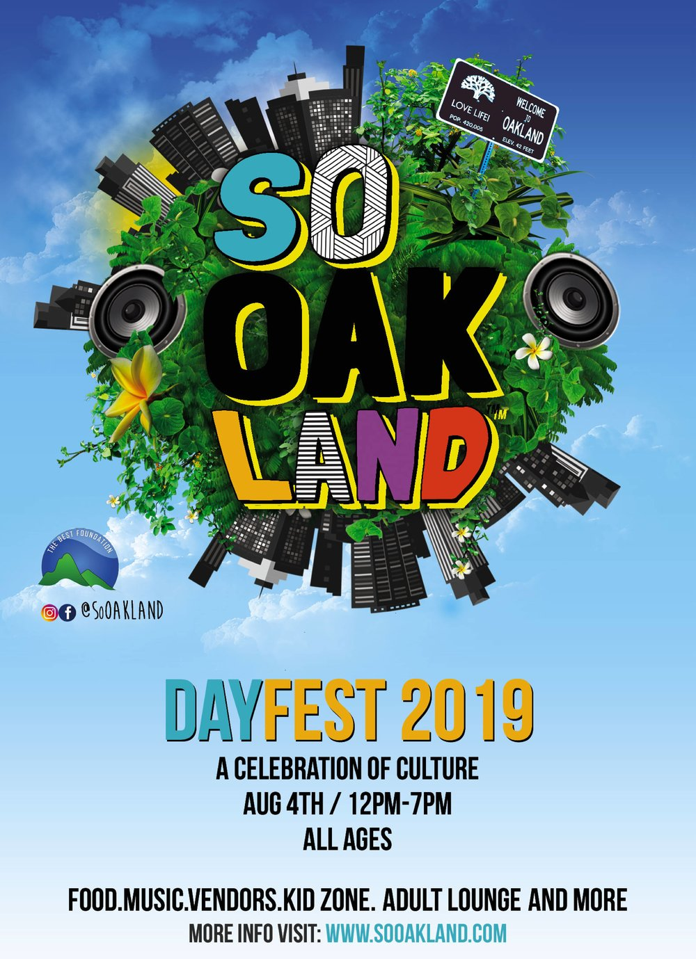 We HELLA love SOOakland Day! - Join us and the rest of the SoOakland crew this August for some community fun in the sun. We're honored to be selected for this grassroots event, eek! Tickets are on sale NOW, you dont want to miss it!!