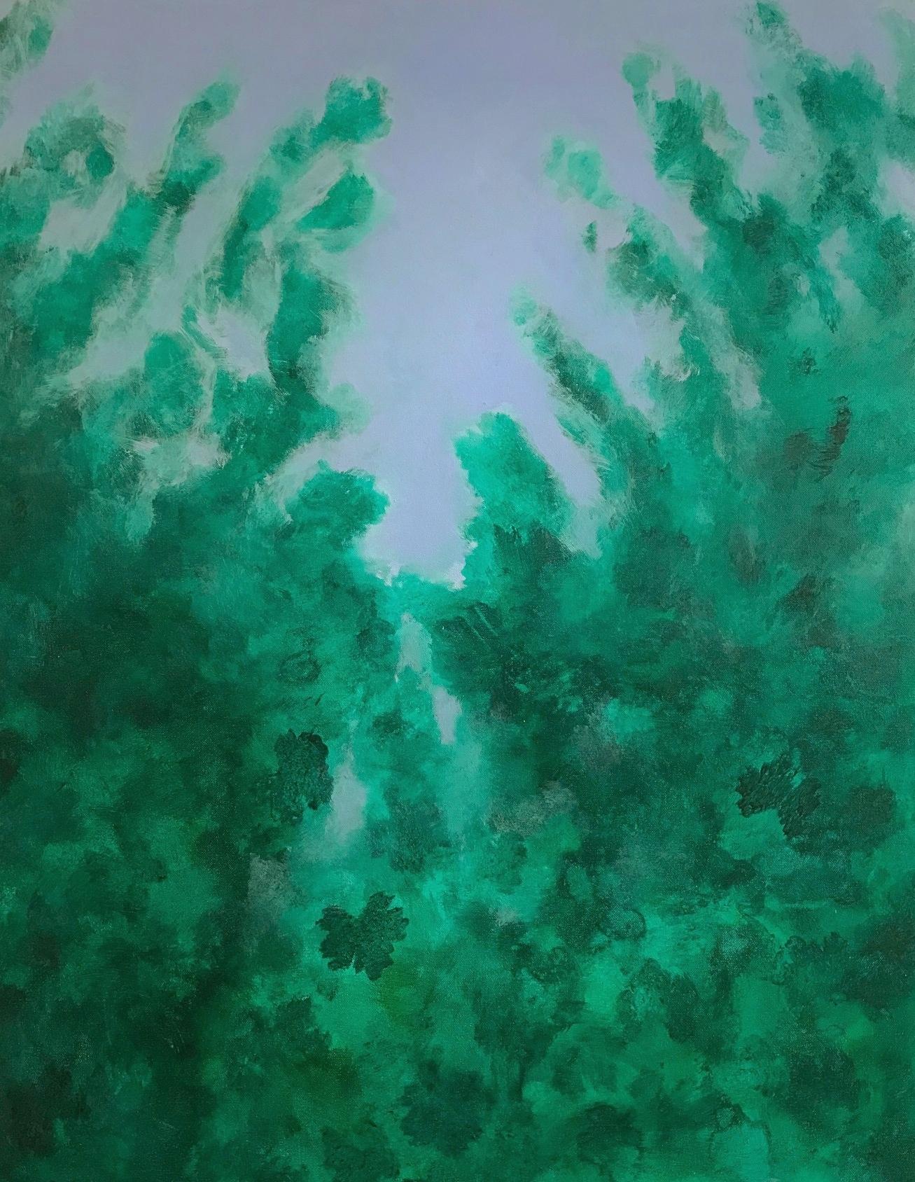 "Napa Summer   2015  40"" x 30"" (101.6 x 76.2 cm)  oil on canvas    $5,200"