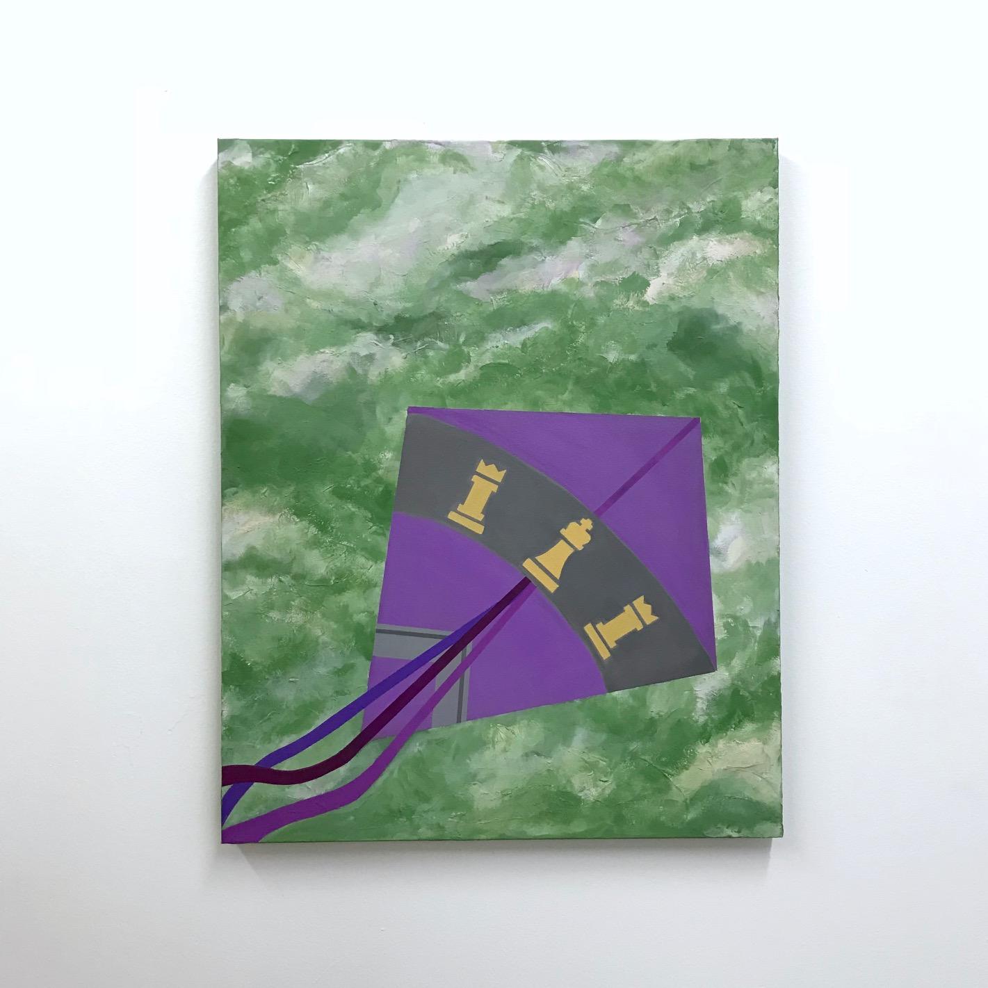 """Riyaan and Raaya (1 of 2)     30"""" x 24"""" (76.2 x 61.0 cm.)   acrylic on canvas"""