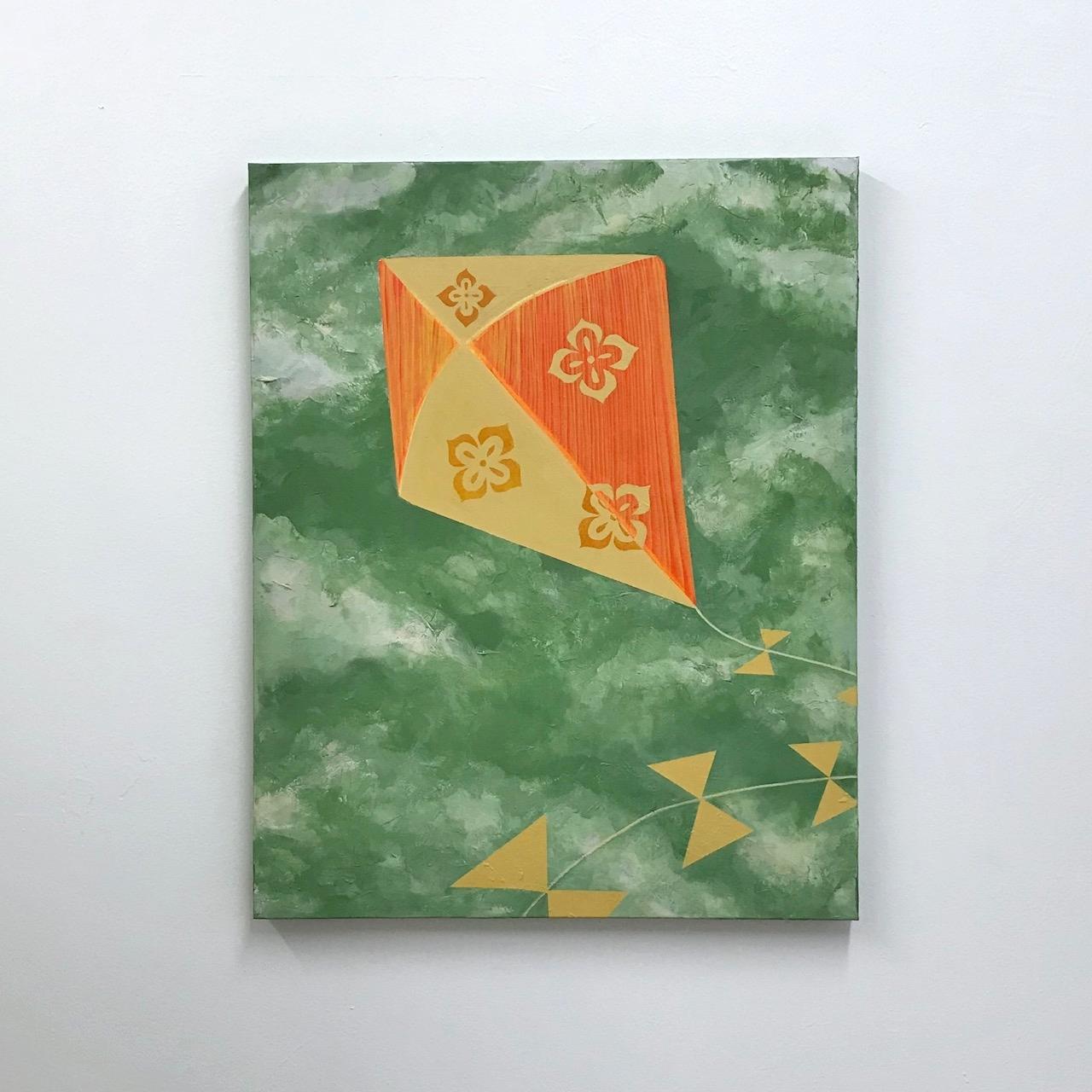 """Riyaan and Raaya (2 of 2)     30"""" x 24"""" (76.2 x 61.0 cm.)   acrylic on canvas"""