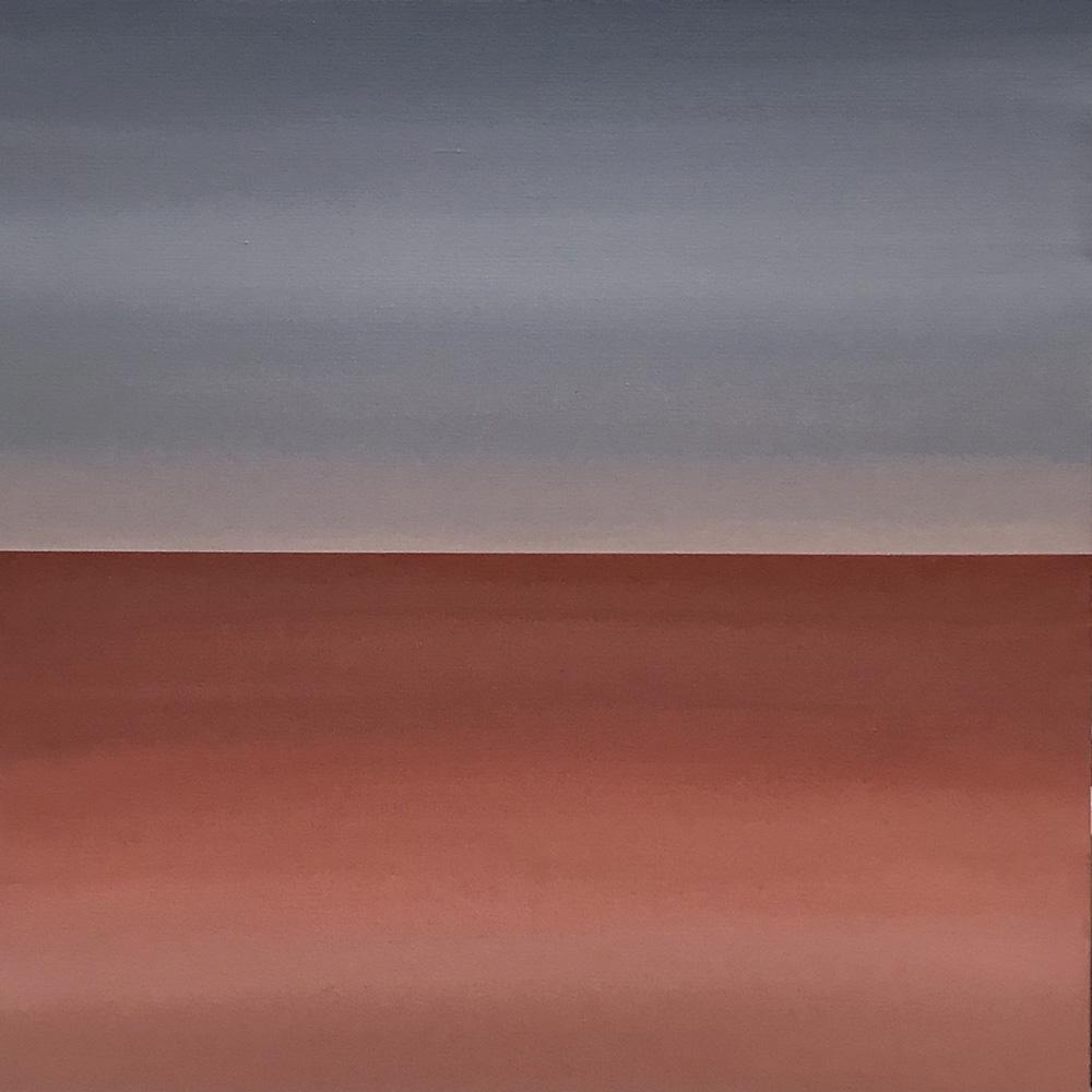 "Seascape XVII   2019 24"" x 24"" (61.0 x 61.0 cm)  acrylic on canvas   PRIVATE COLLECTION  🔴  Manila, Philippines"