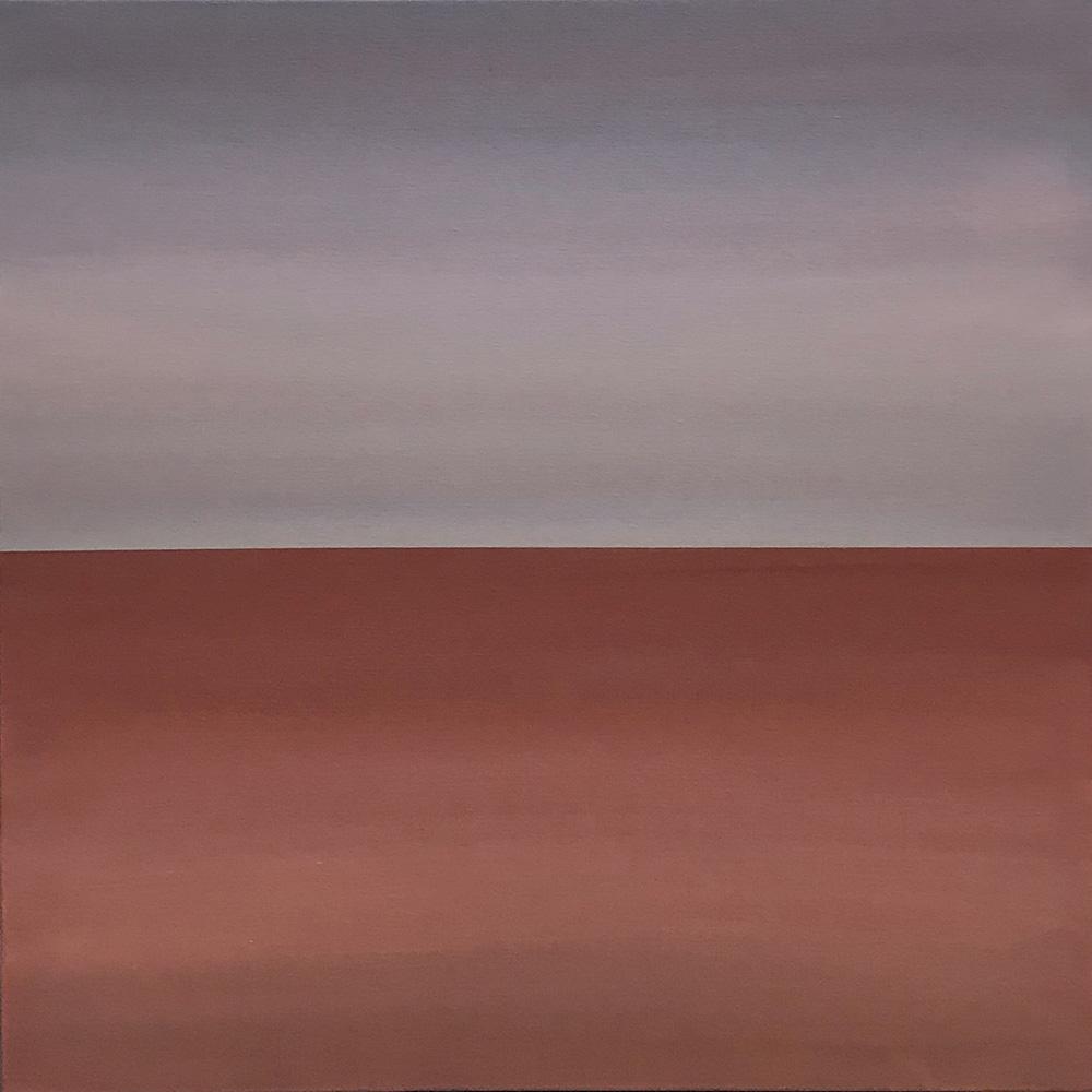 "Seascape XVI   2019 24"" x 24"" (61.0 x 61.0 cm)  acrylic on canvas    $2,800"