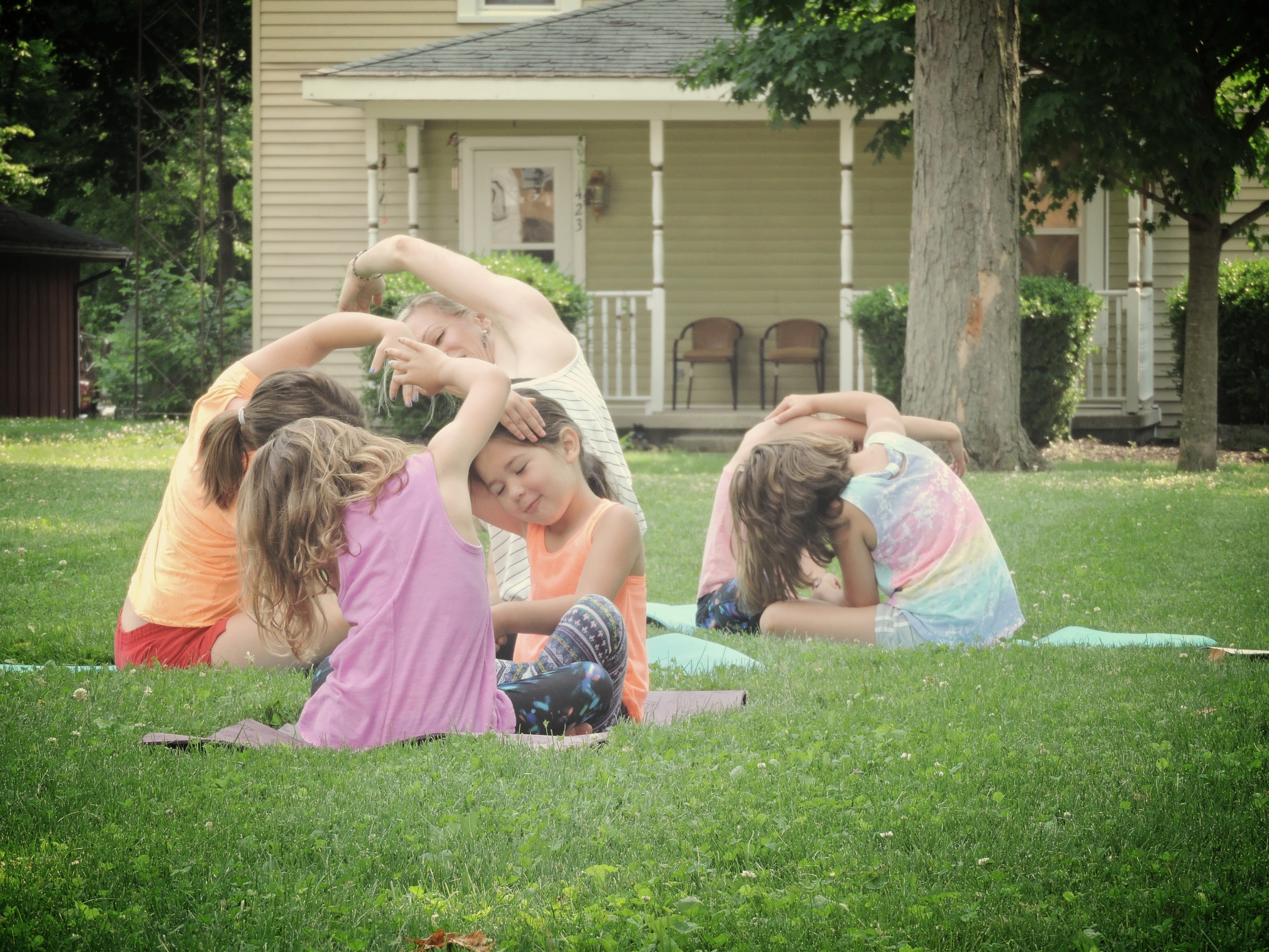 Come experience Kindness Kids Yoga at Theoso Fest! - Join me for this day of free fun for the entire family at the fest and take the family yoga class in Kids Corner...