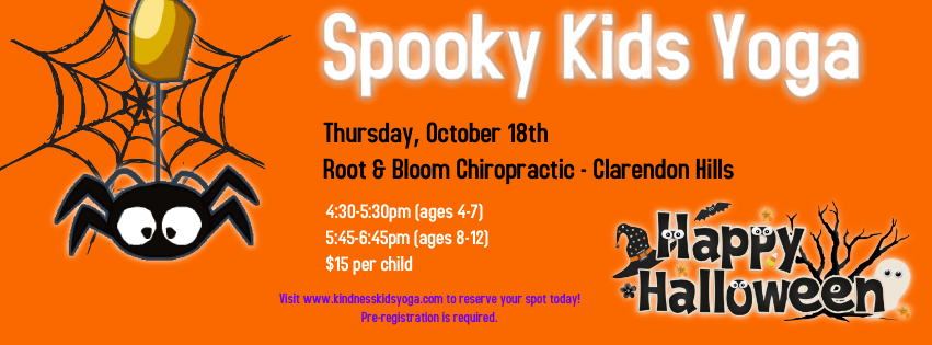Visit the classes section to register for the Thursday, October 18th class for your child's age!