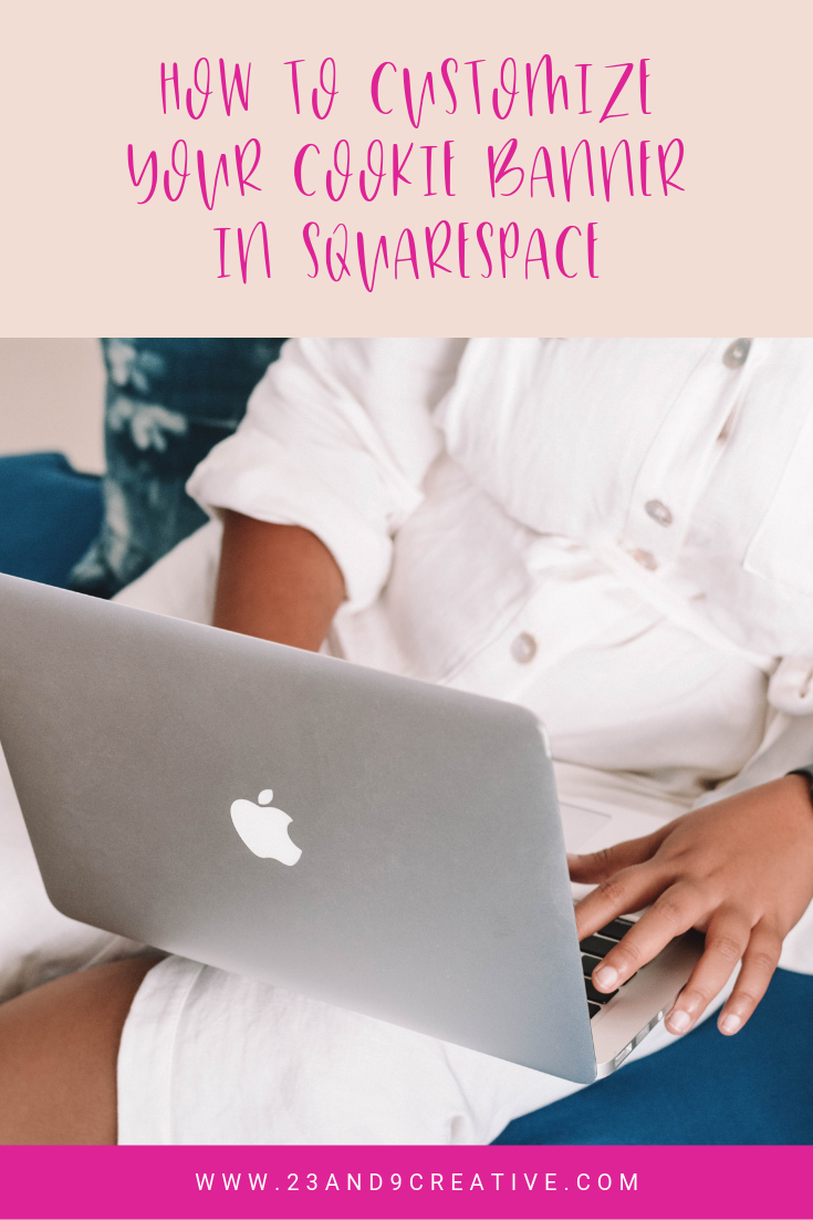 How to customize your cookie banner in Squarespace
