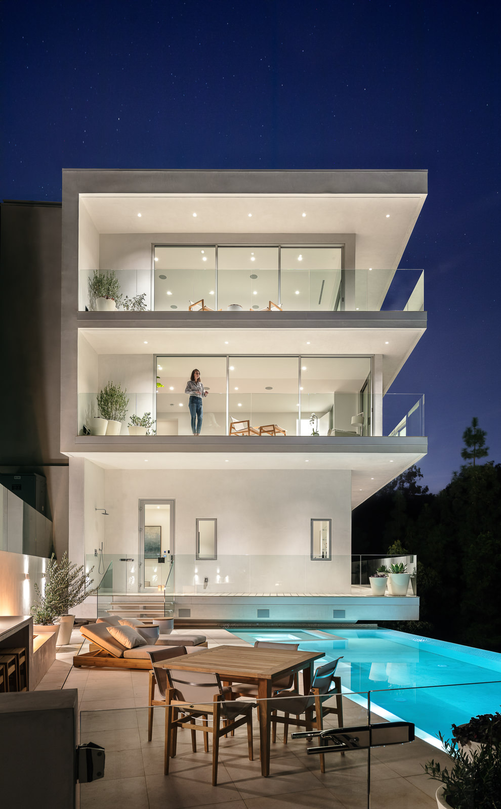 Nest House, Beverly Hills, CA - Tooke Architects