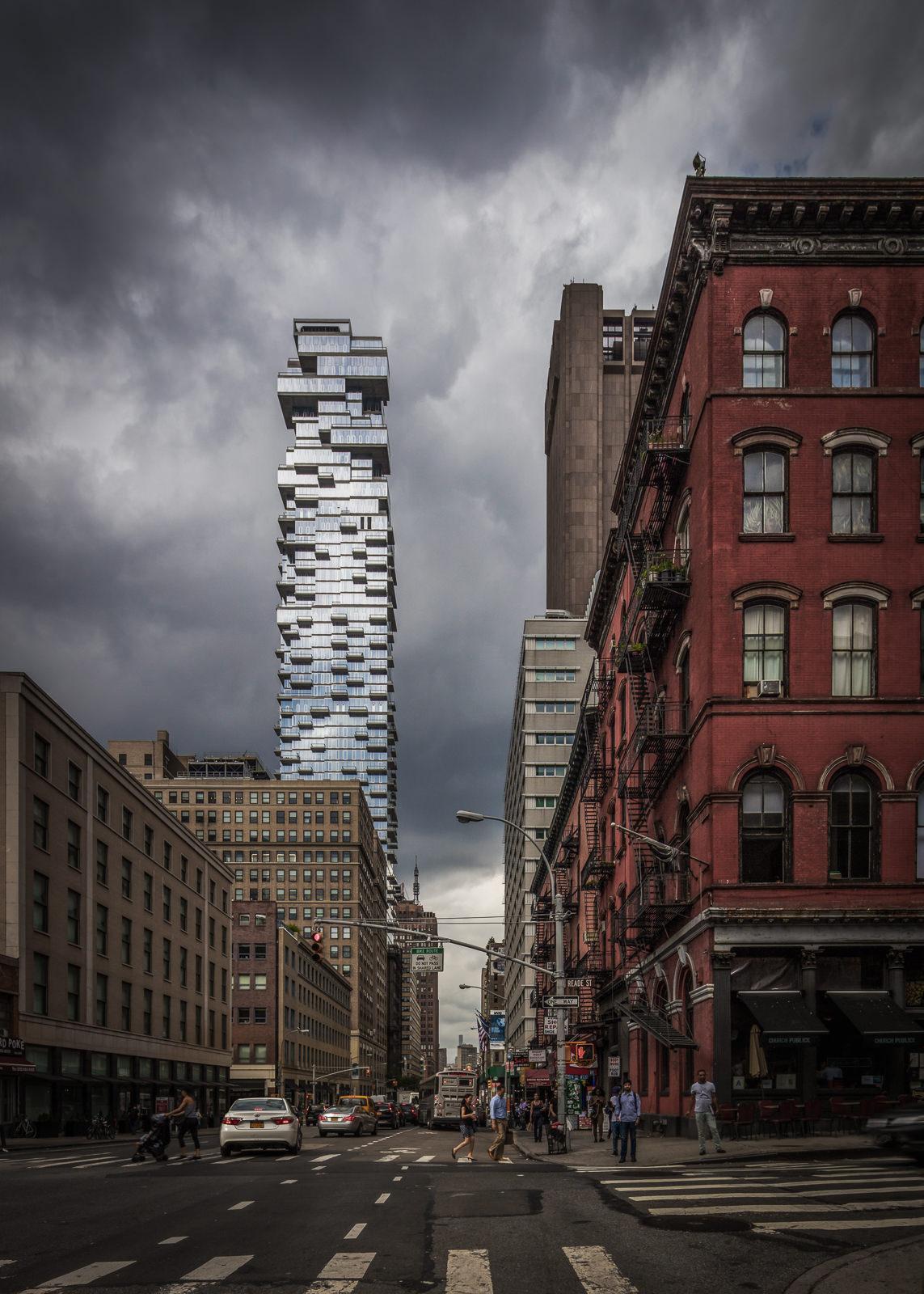 56 Leonard, New York City, NY - Herzog and de Meuron