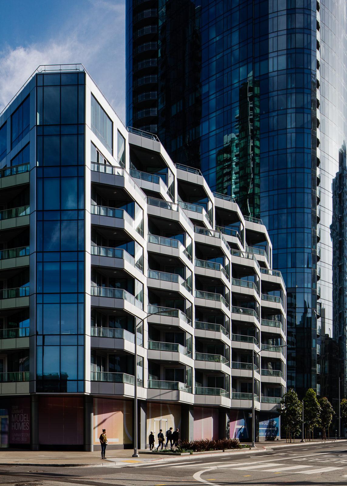 Lumina, San Francisco, CA - Heller Manus / Arquitectonica