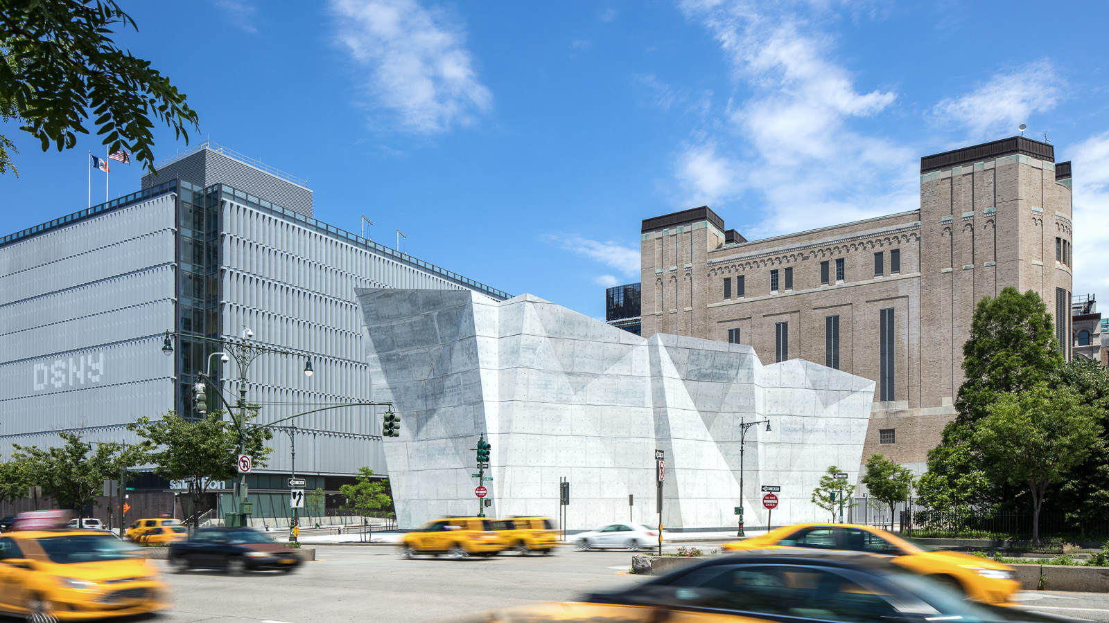 Spring Street Salt Shed, New York City, NY - Dattner Architects + WXY Architecture