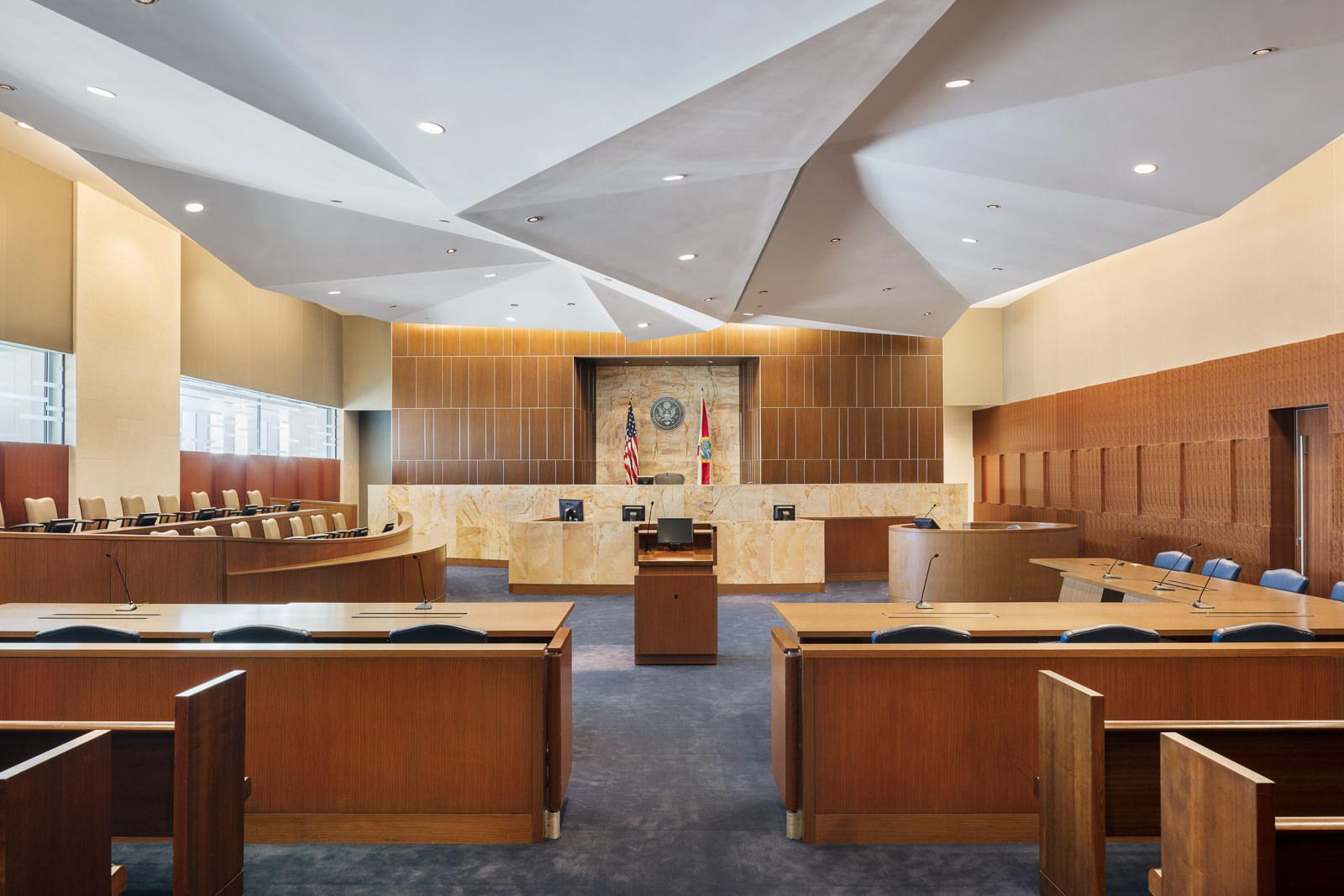 Wilkie Ferguson Federal Courthouse, Miami, FL - Arquitectonica