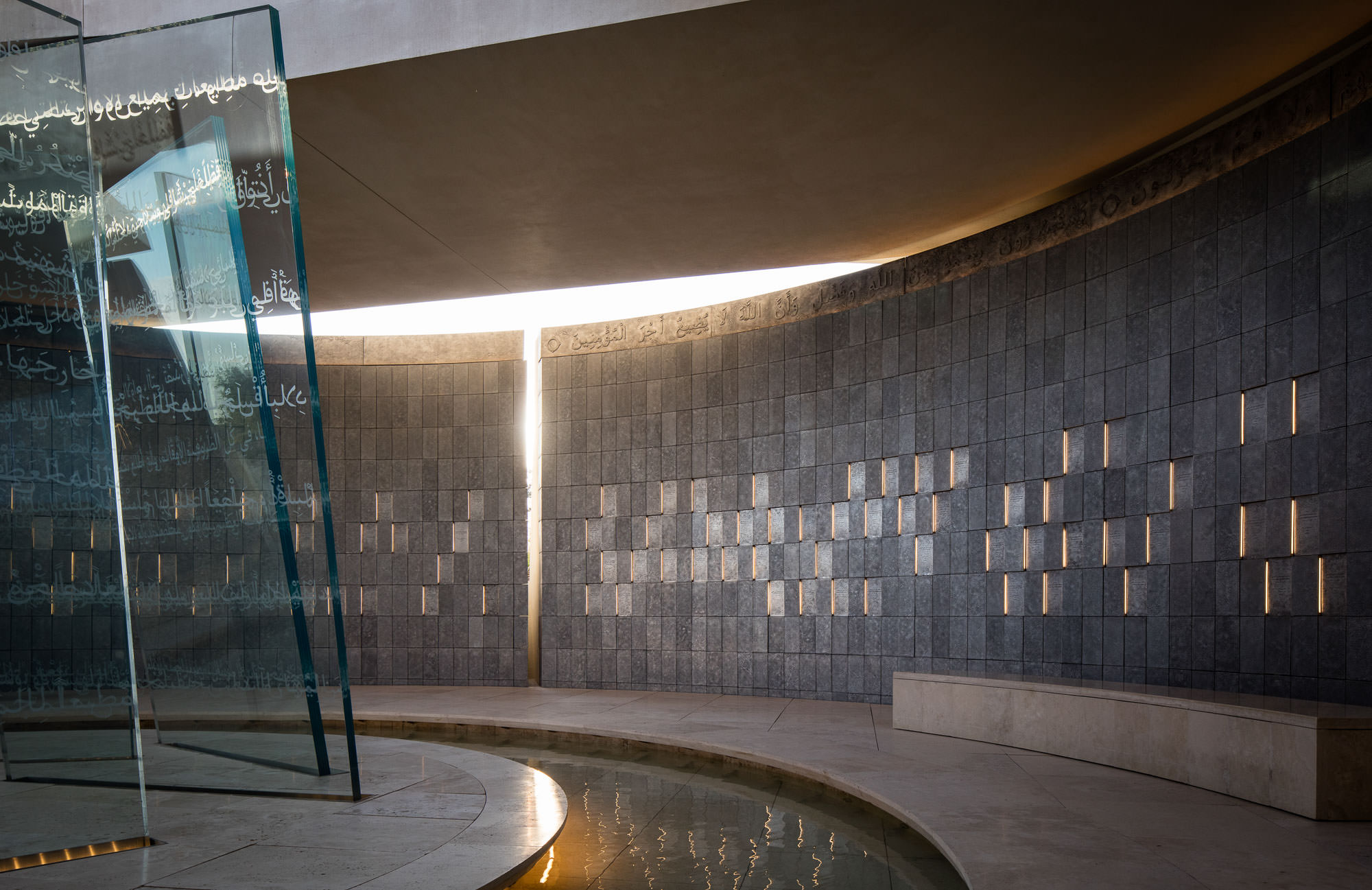 Wahat Al Karama Memorial, Abu Dhabi, UAE - Idris Khan + UAP Company