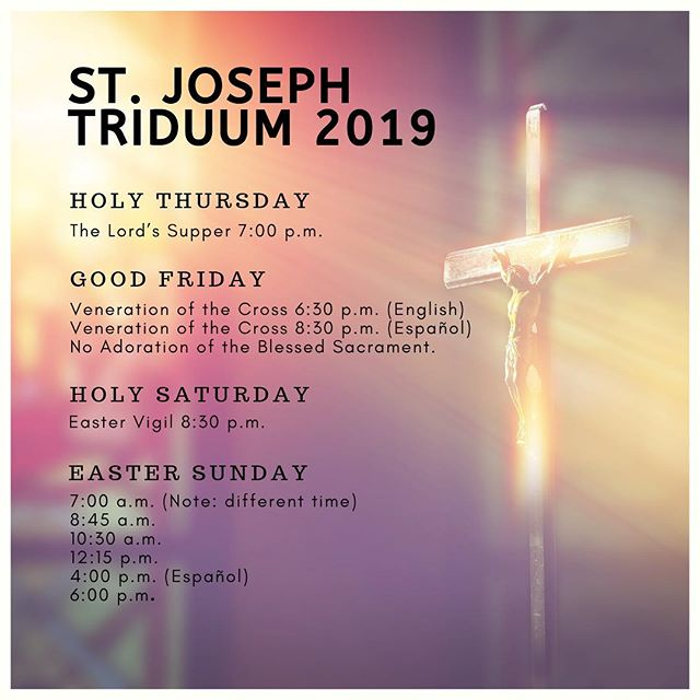 """Holy Week is a privileged time when we are called to draw near to Jesus; friendship with Him is shown in times of difficulty."" Pope Francis. Join us this week as we enter into Jesus' Passion, Death & Resurrection! #holyweek #triduum"