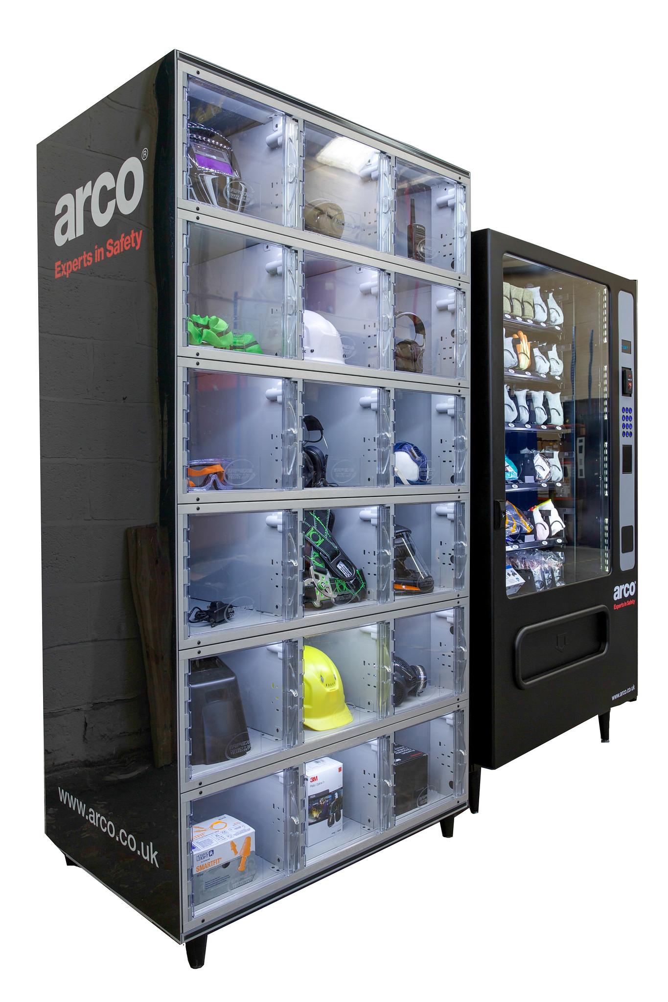 ARCO VENDING MACHINES
