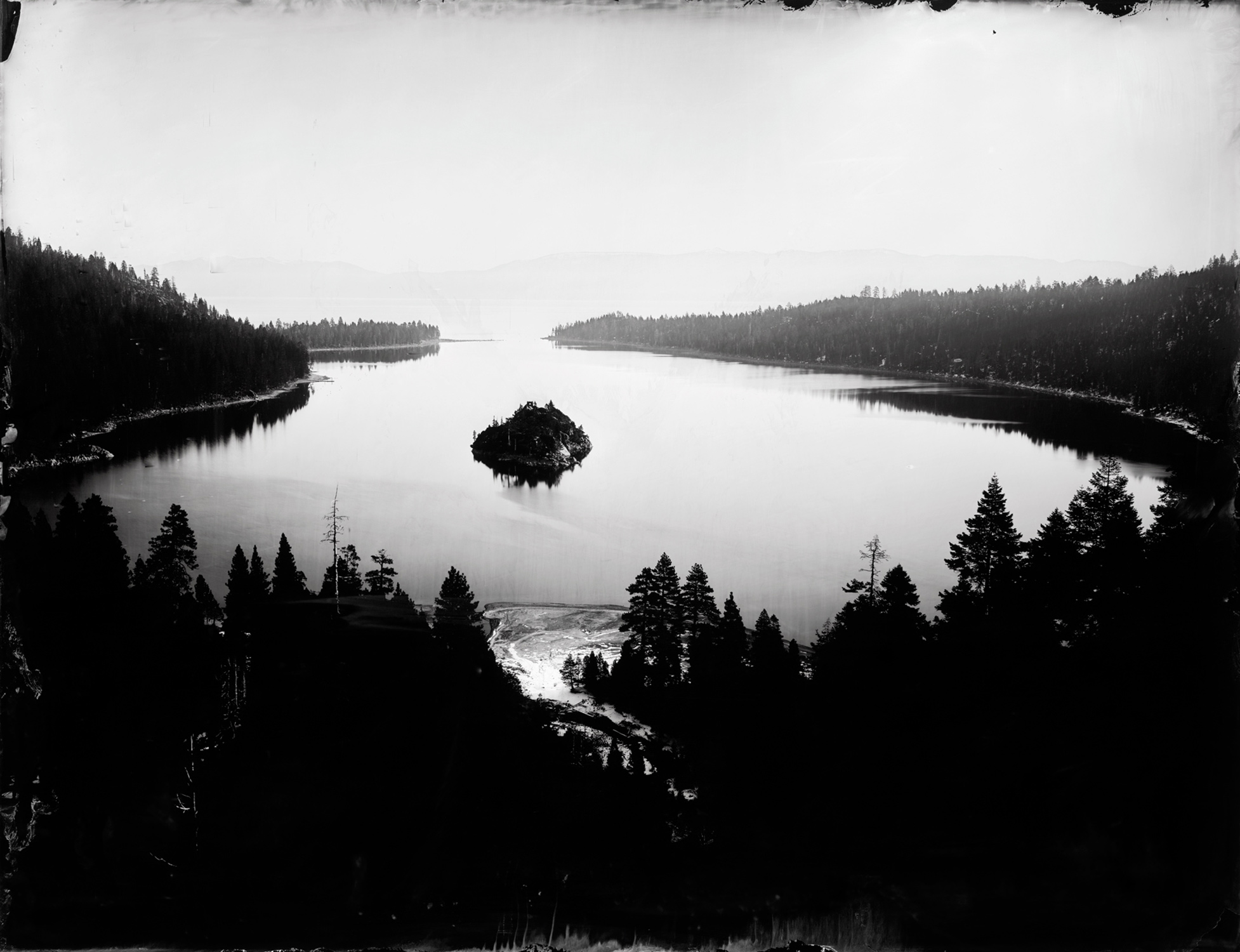 """Emerald Bay"" - 27''x35'' Ambrotype - 2015"