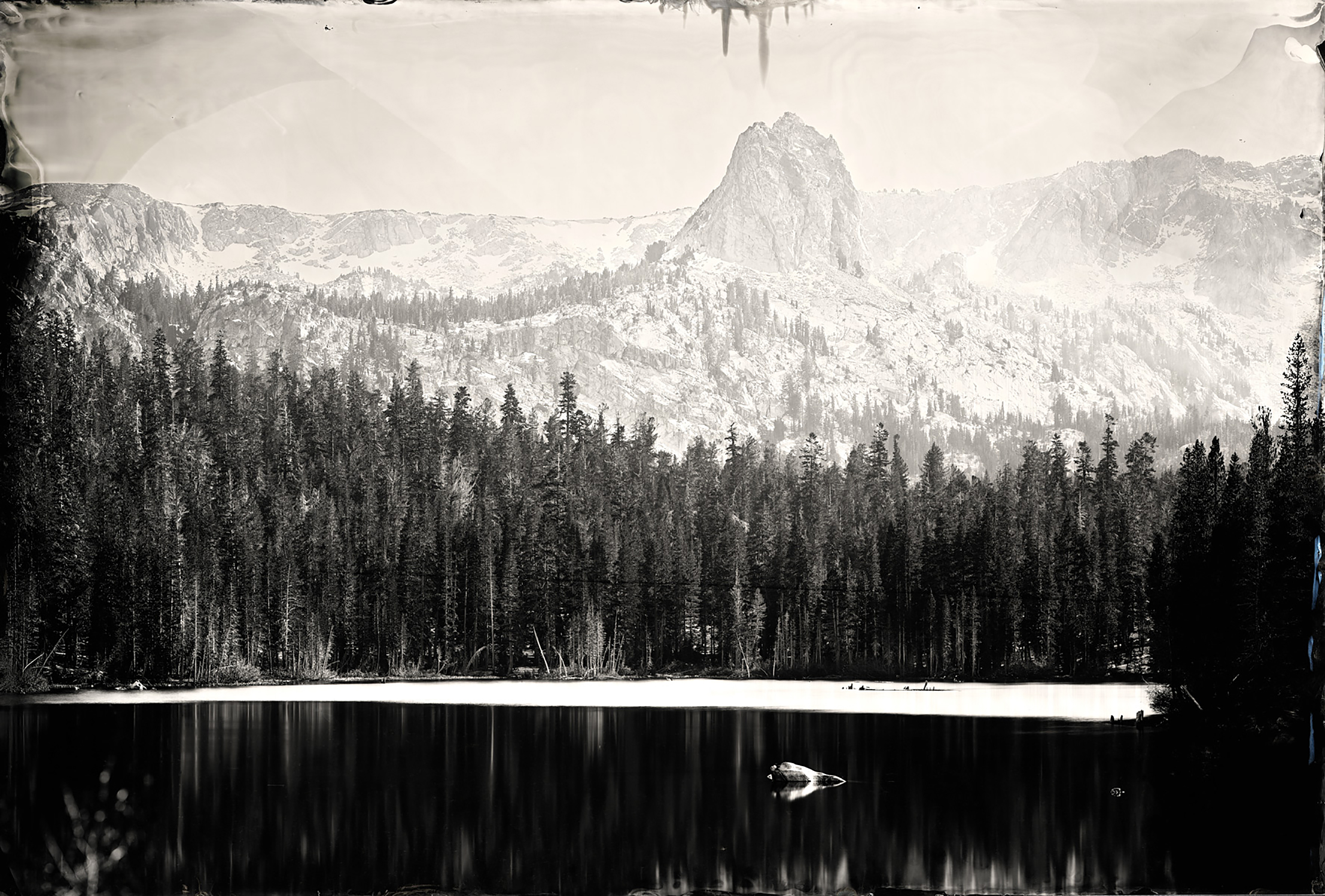 """Lake Marry"" - 24""x35"" Tintype - 2011"