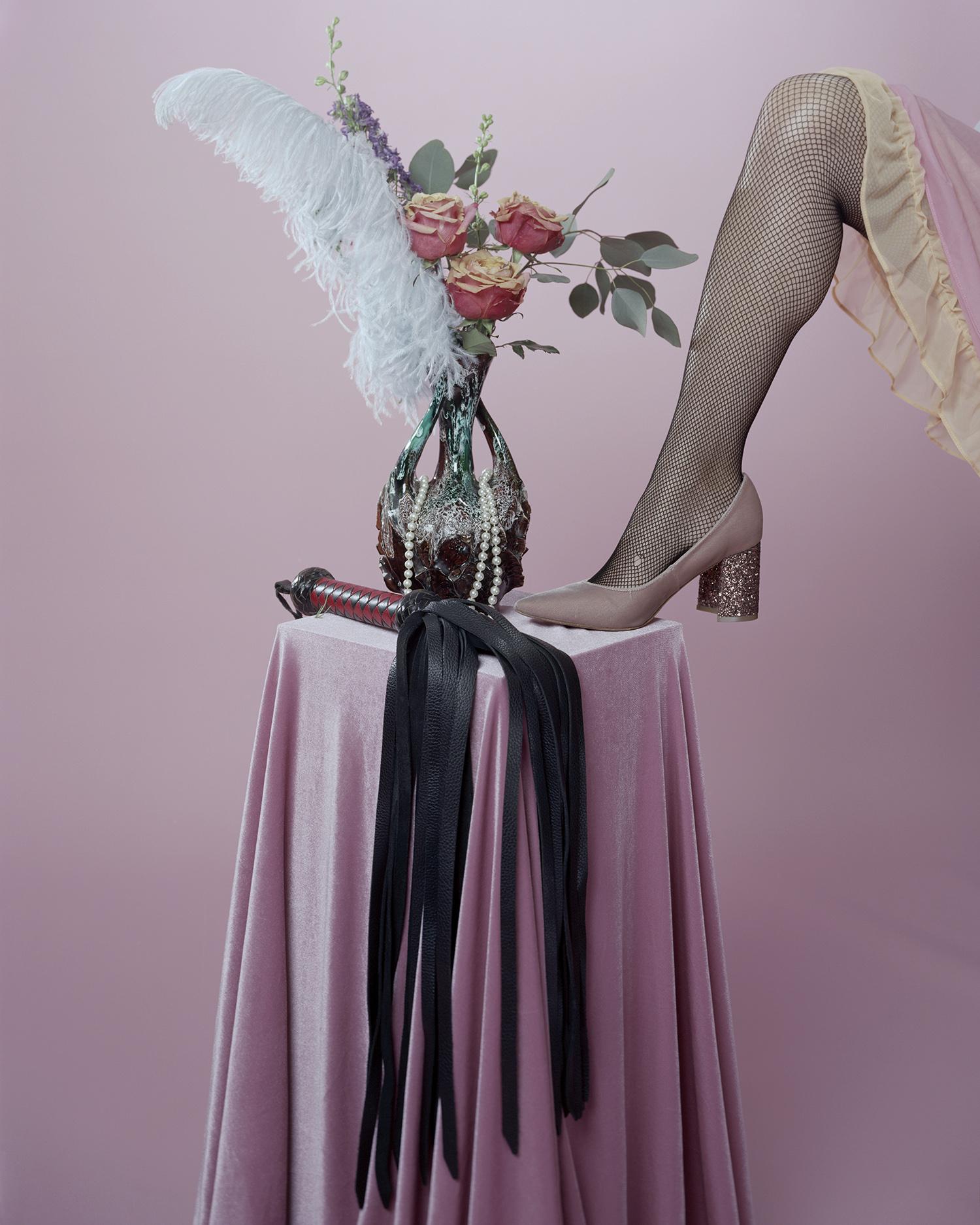 """Pink With Whip"" by Amanda Rowan"