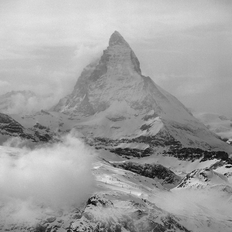 """""""Titel – Big-One Matterhorn"""" by Manfred Schröder"""