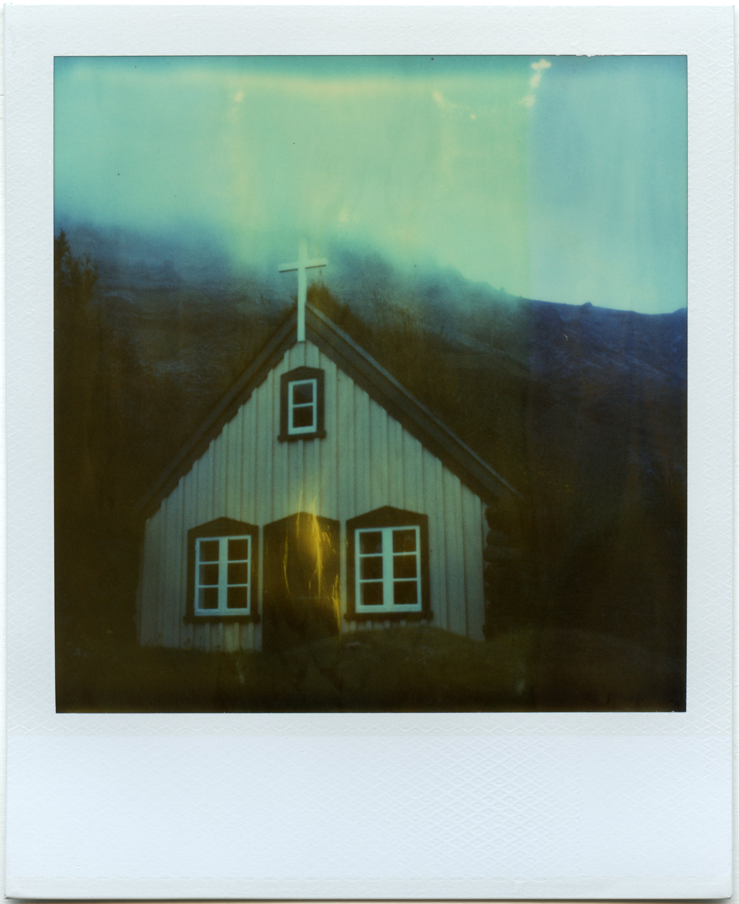 """Solitude"" - Expired Polaroid Time Zero Film - 2018"