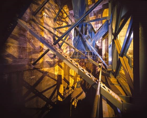 James B. Abbott, Ben Franklin Bridge Anchorage Interior, Cable Bend, 2000