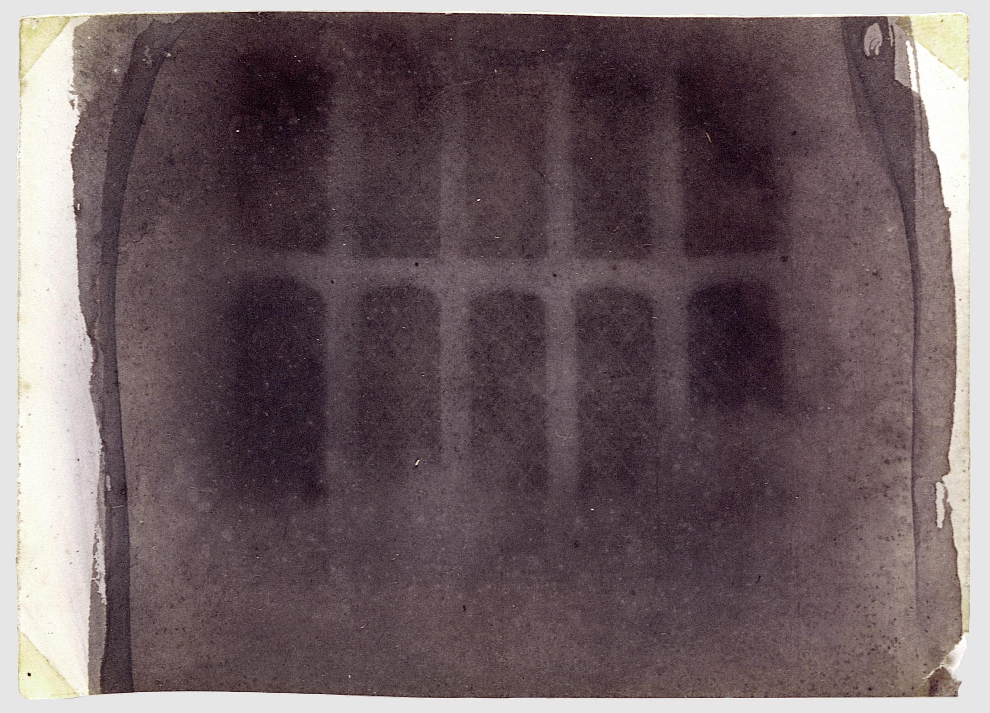 """The Oriel Window, Lacock Abbey"" by William Henry Fox Talbot"
