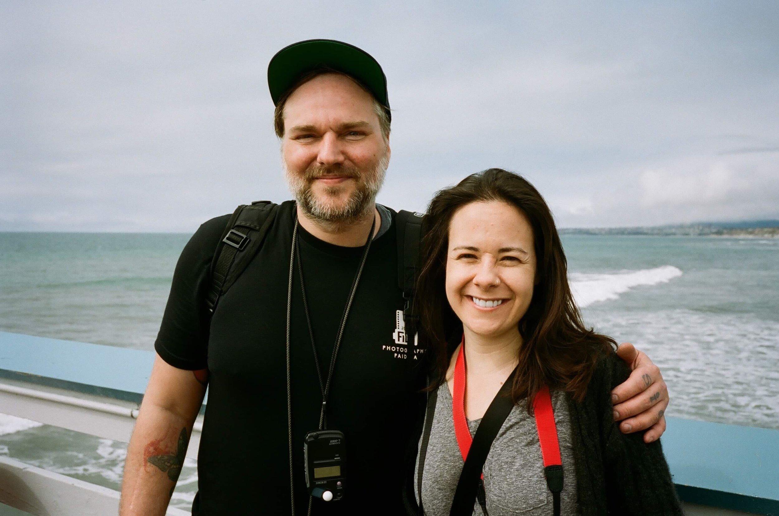 Timothy Ditzler and Christine Bartolucci - Hosts of the  Analog Talk Podcast!  | © Chris Visser